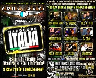 flyer Hardcore Italia