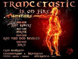 Trance Tastic (flyer)