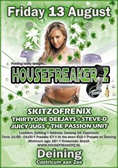 Housefreakerz (flyer)