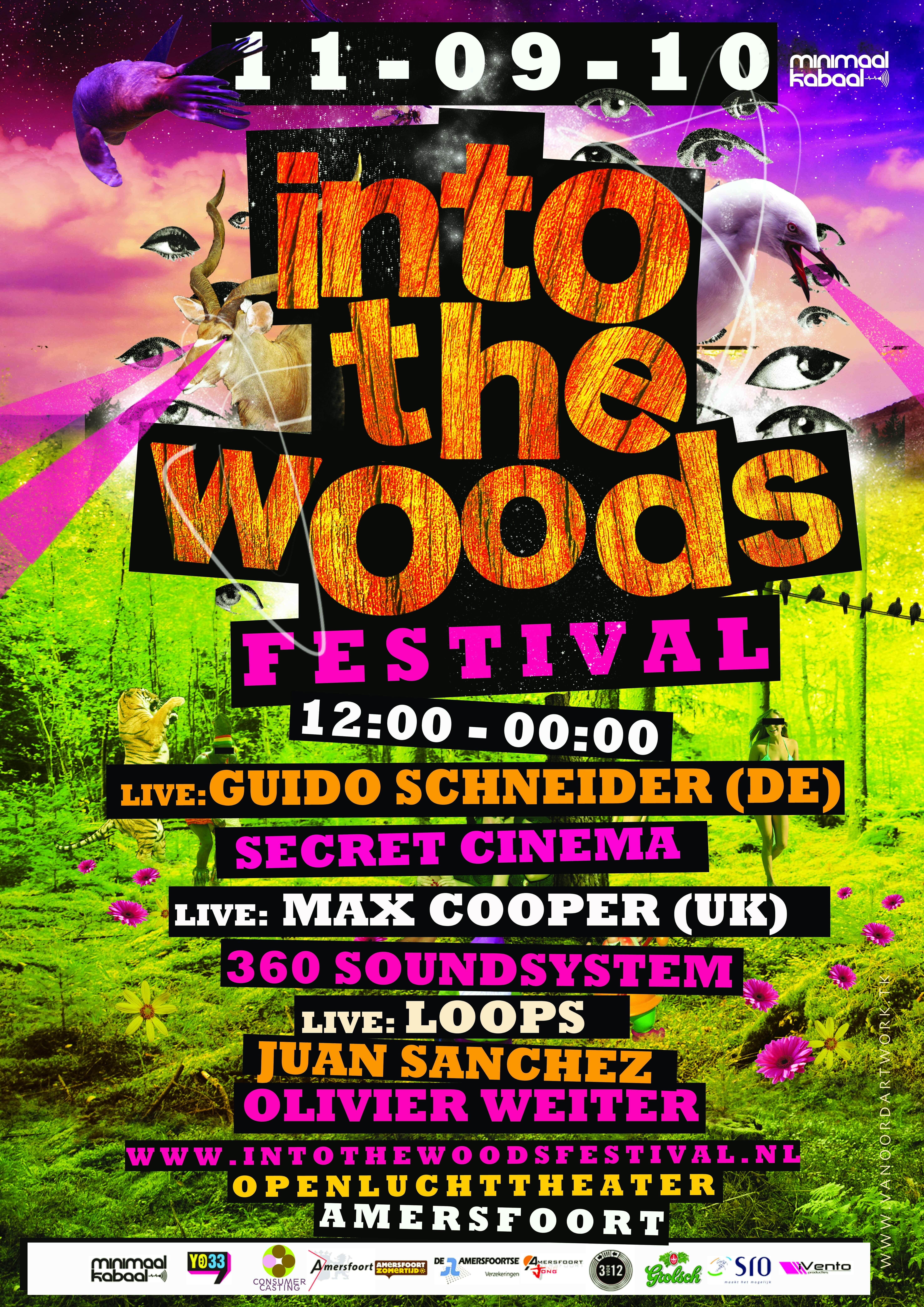 into the woods festival een feit  u00b7 nieuws