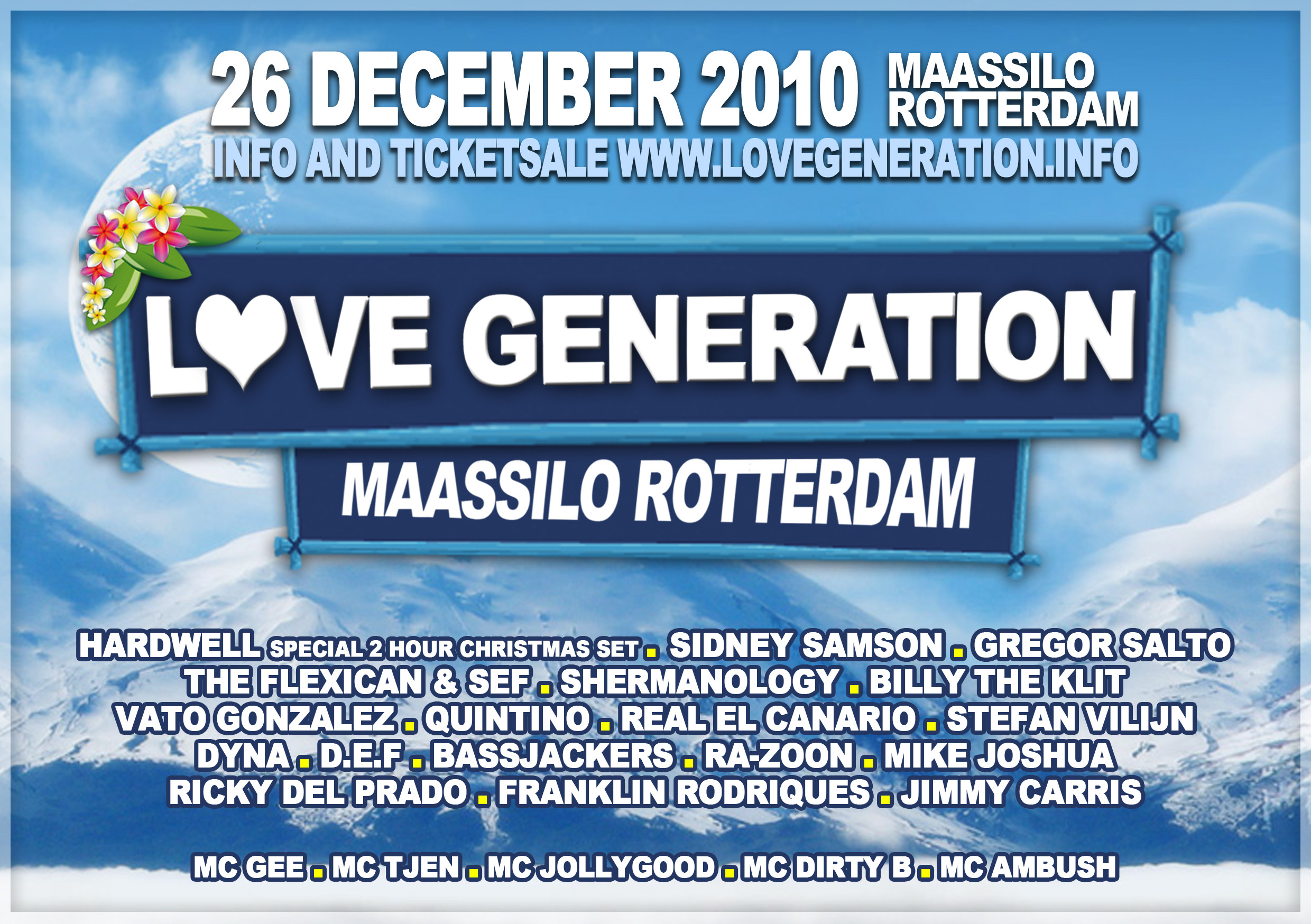 Love Generation Festival (flyer)