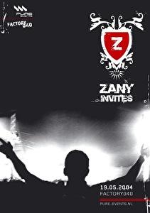 Zany Invites (flyer)