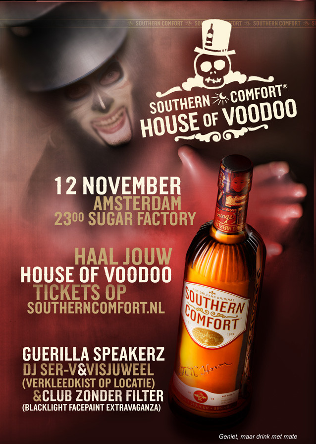 Southern Comfort House Of Voodoo 12 November 2010 Sugar Factory