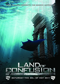 Land of Confusion festival (flyer)