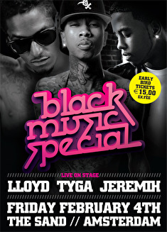 Black Music Special (flyer)