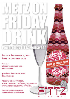 Metz on Friday Drink (flyer)