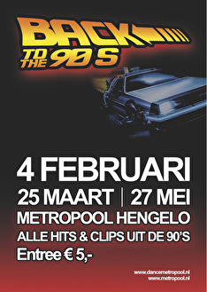 Back to the 90's (flyer)