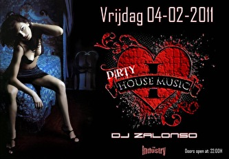 Dirty House Music (flyer)