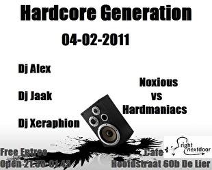 Hardcore Generation (flyer)