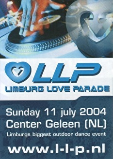 Limburg Love Parade (flyer)