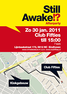 flyer Still Awake!? Afterparty