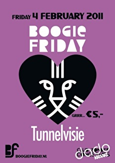 Boogie Friday loves Tunnelvisie (flyer)