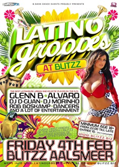 Latino Grooves (flyer)