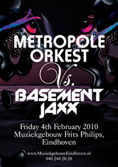 Metropole Orkest vs Basement Jaxx (flyer)