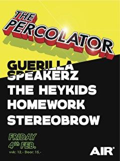 The percolator (flyer)