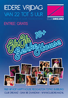 Oh Oh Gekkehouse (flyer)