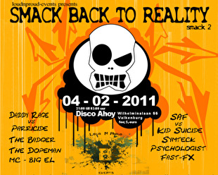 Smack back to reality (flyer)
