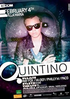 Villa Maria Invites Quintino (flyer)