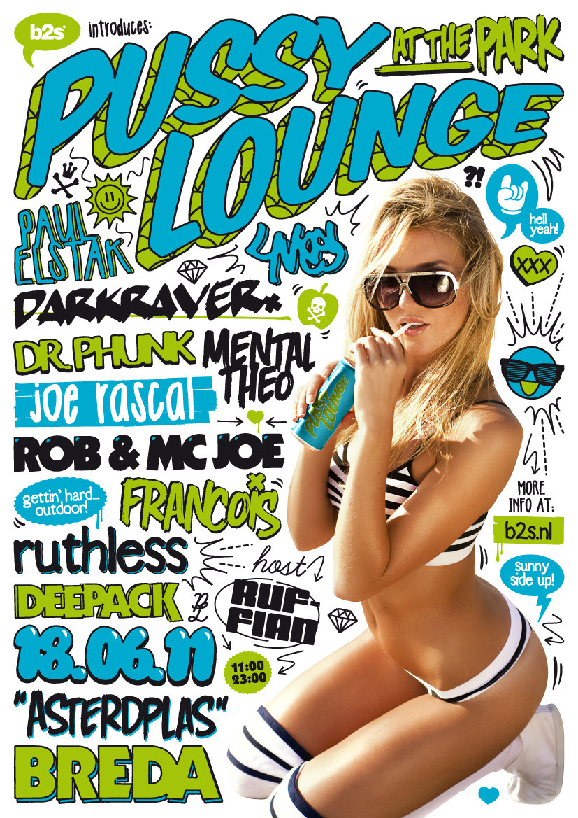flyer Pussy Lounge