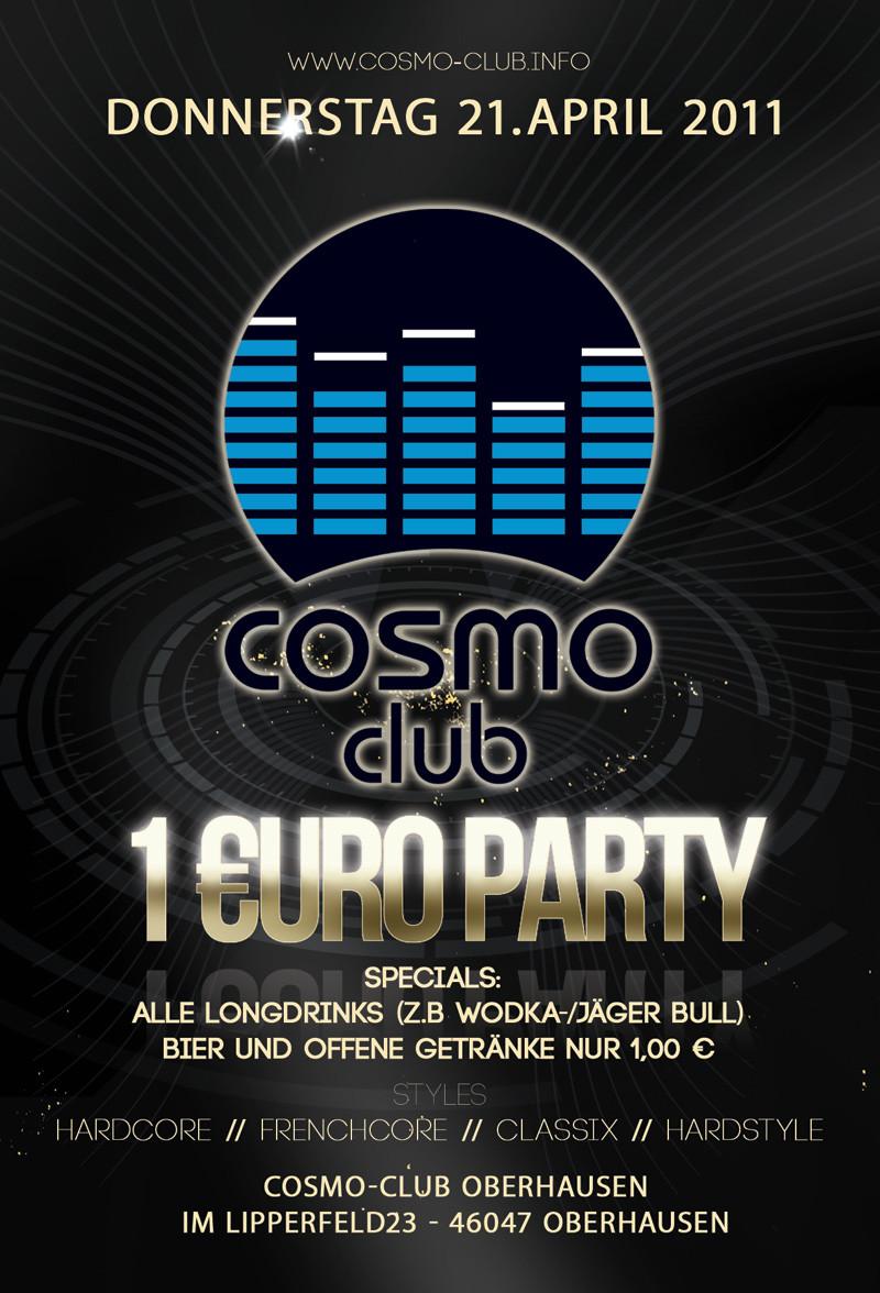 Cosmo Club · 21 April 2011, Cosmo Club, Oberhausen · event