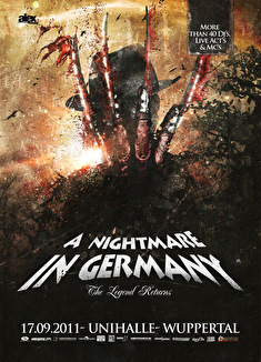 A Nightmare In Germany (flyer)