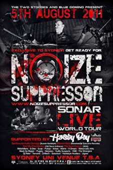 Noize Suppressor (flyer)