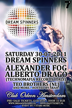 Dream Spinners (flyer)