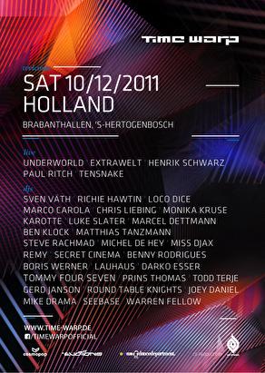 Time Warp Holland (flyer)