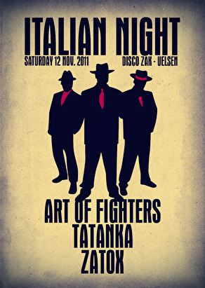 flyer Italian Night