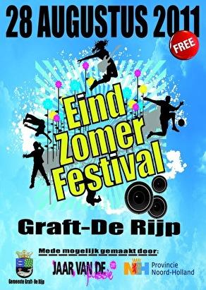 Eindzomer Festival 2011 (flyer)