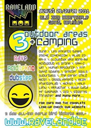 Raveland Festival (flyer)