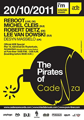 flyer The Pirates of Cadenza
