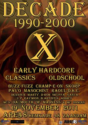 Decade 1990-2000 (flyer)