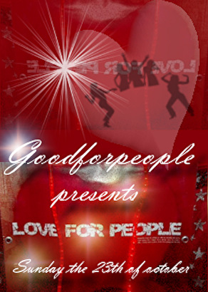 Love for People (flyer)