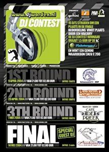 Pinksterpar-T DJ Contest (flyer)