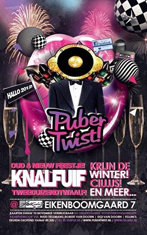 PuberTwist - Knalfuif 2012! (flyer)