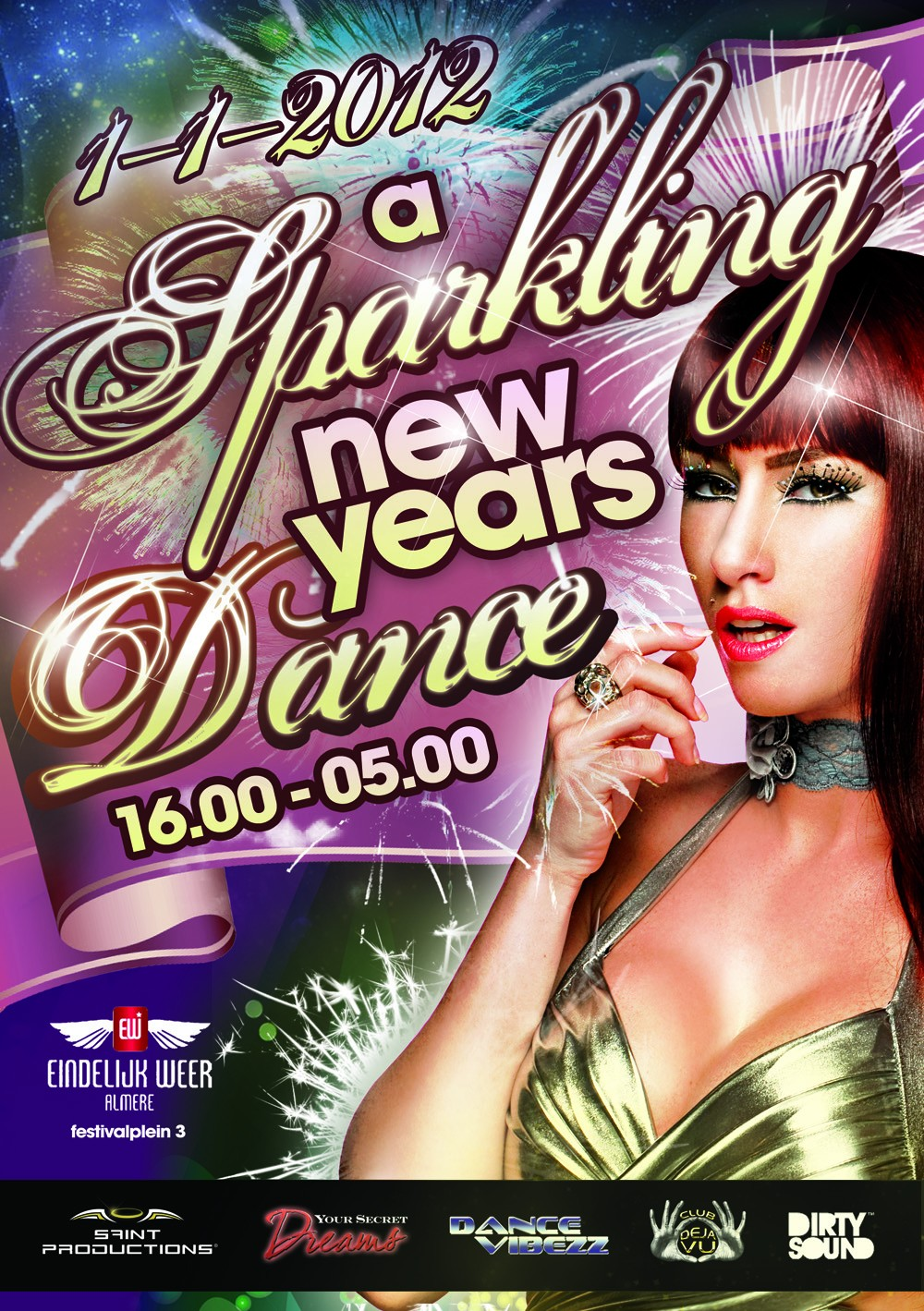 Sparkling New Year S Eve Nails Tutorial: A Sparkling New Years Dance · 1 Januari 2012, Eindelijk