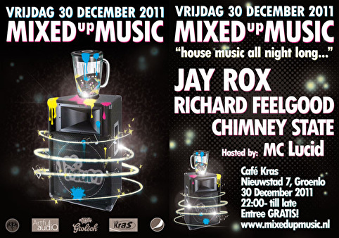 Mixed up Music (flyer)