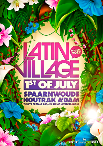 Latin Village Festival 2012 (flyer)