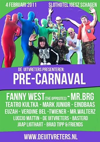 flyer Pre-Carnaval