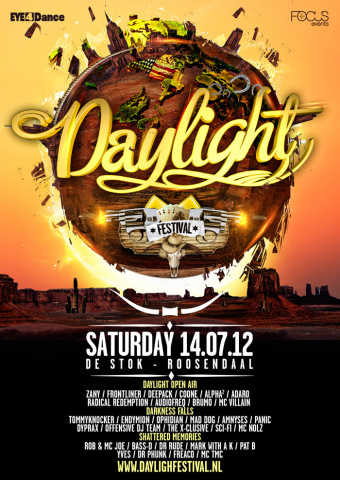 flyer Daylight Festival