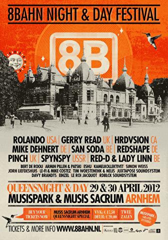 8Bahn Night & Day Festival (flyer)