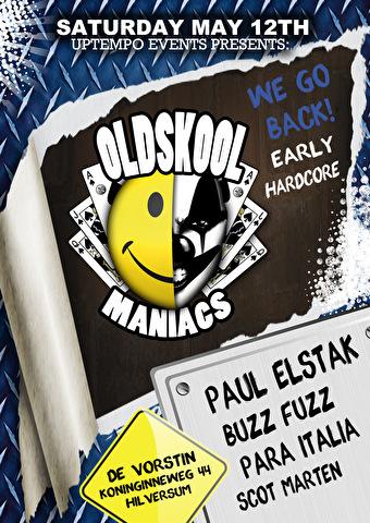 Oldskool Maniacs (flyer)