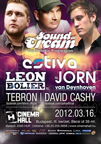 Sound of Cream (flyer)
