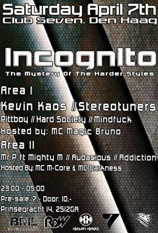 Incognito II (flyer)