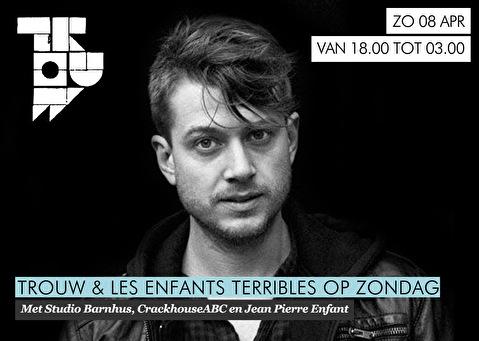 Trouw & Les Enfants Terribles op Zondag (flyer)