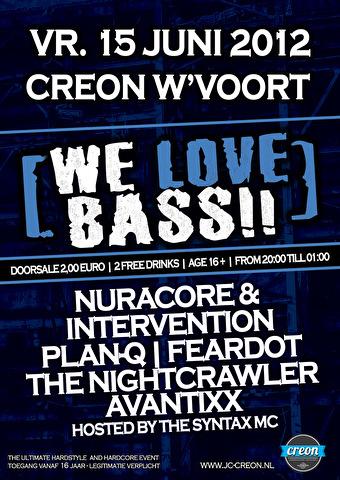 We love bass (flyer)