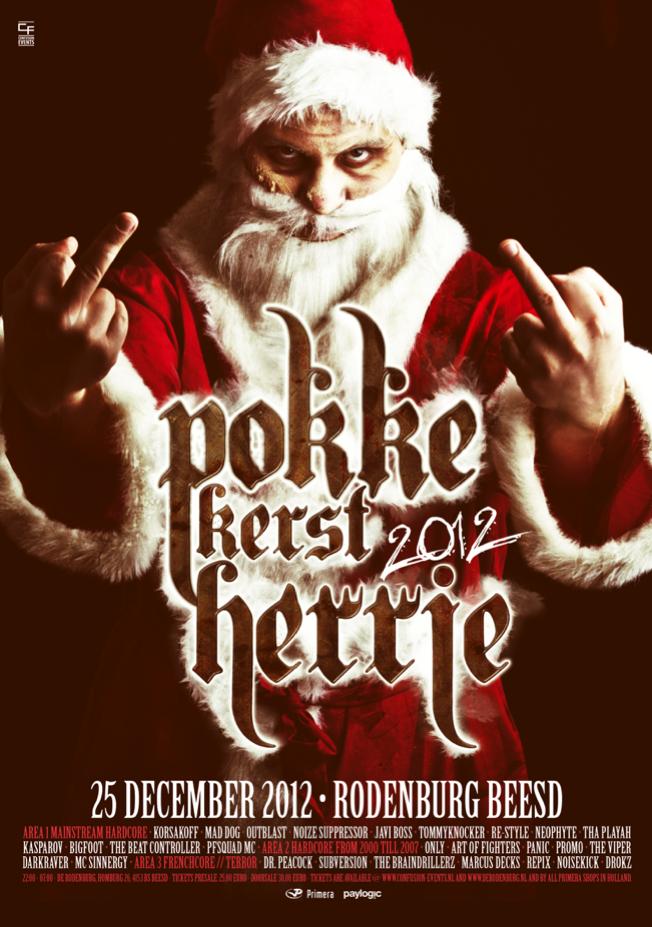 Pokke Kerst Herrie 2012 25 December 2012 Rodenburg Beesd Evenement