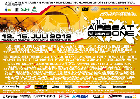 flyer Airbeat One Festival