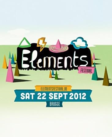 Elements festival (flyer)